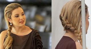 penteado+tranca+Marcela+Temer Tranças   O Penteado do momento!