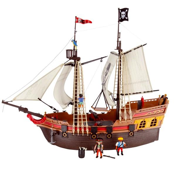 Eleccion de un unico auricular for Barco pirata playmobil
