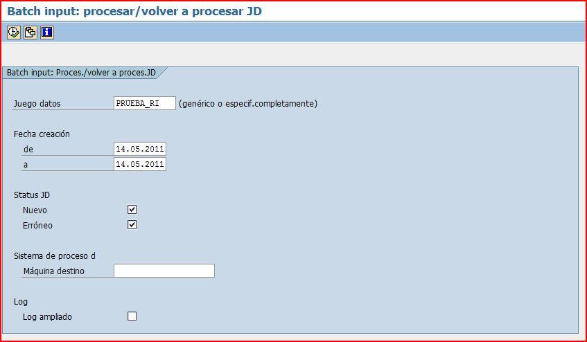 Procesar juegos de datos de batch input | Blog de SAP