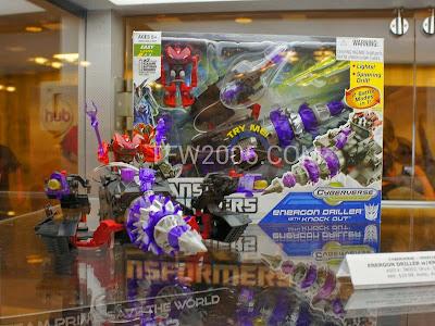 Transformers Prime Energon Driller BOTCON 2012