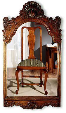 Me gusta y te lo cuento historia del mueble ingl s siglo xviii - Espejos coloniales ...