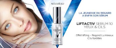 obtenir cils longs épais volume vichy serum 10 yeux cils liftactiv