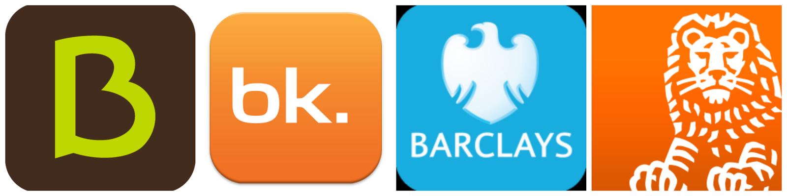 logos aplicaciones bancos