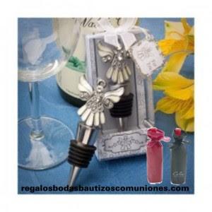 imagen regalo tapón botella de vino