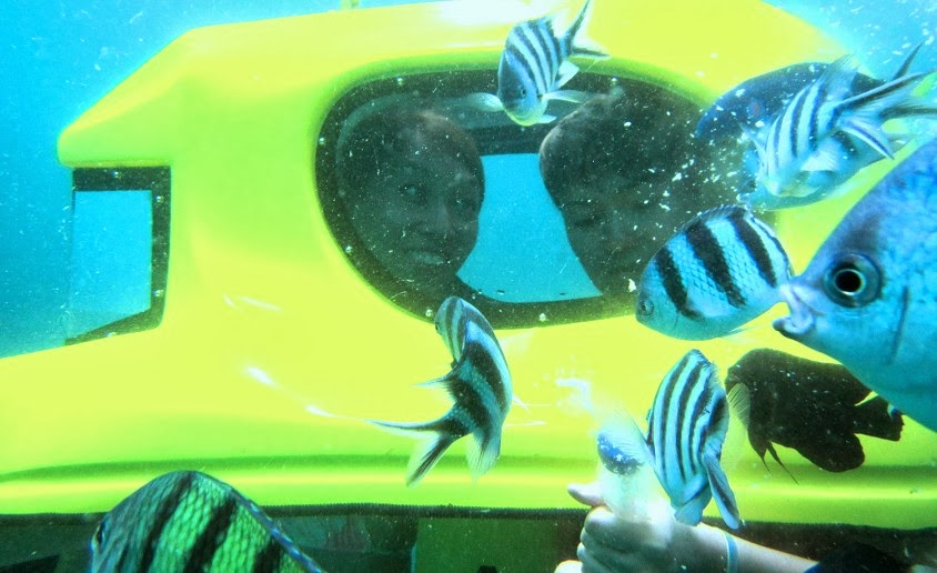 Things to do in Bali 21 - Underwater Scooter