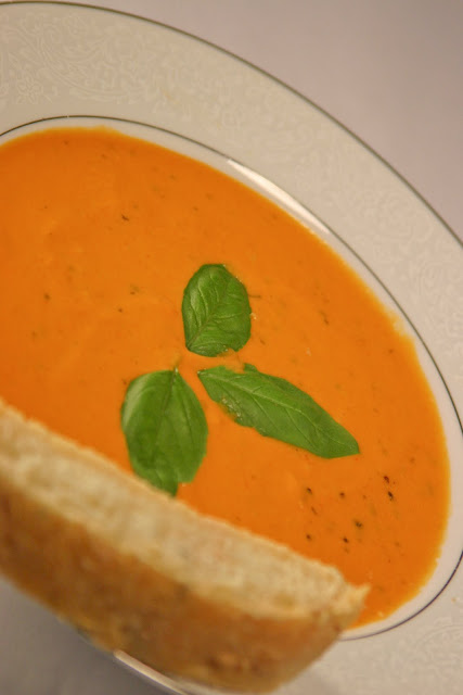 Tomato Basil Chilled Soup