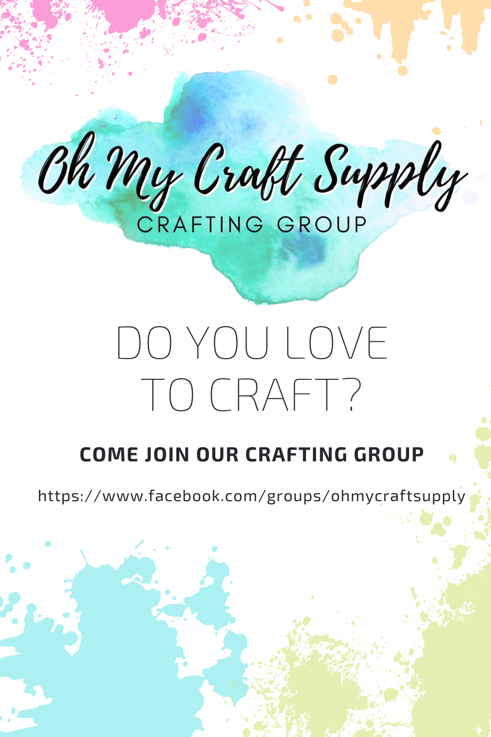 Facebook Crafting Group