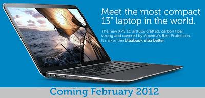 Dell Meluncurkan Ultrabook XPS 13 Inchi