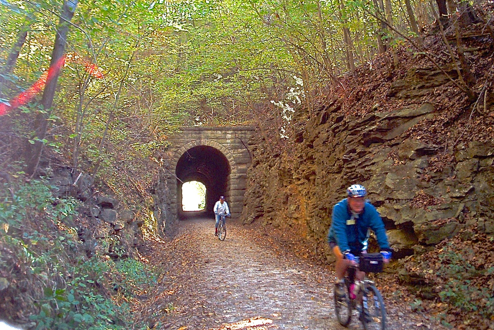 Chuck S Adventures 2002 Biking Missouri S Katy Trail With Elderhostel