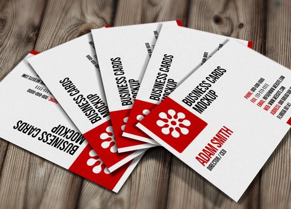 Download ID Card Mockup Gratis - FREE PSD BUSINESS CARD MOCKUP