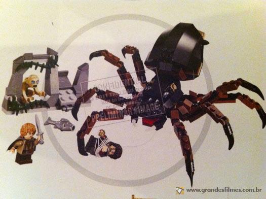 LEGO Senhor dos Anéis - O ataque da Laracna