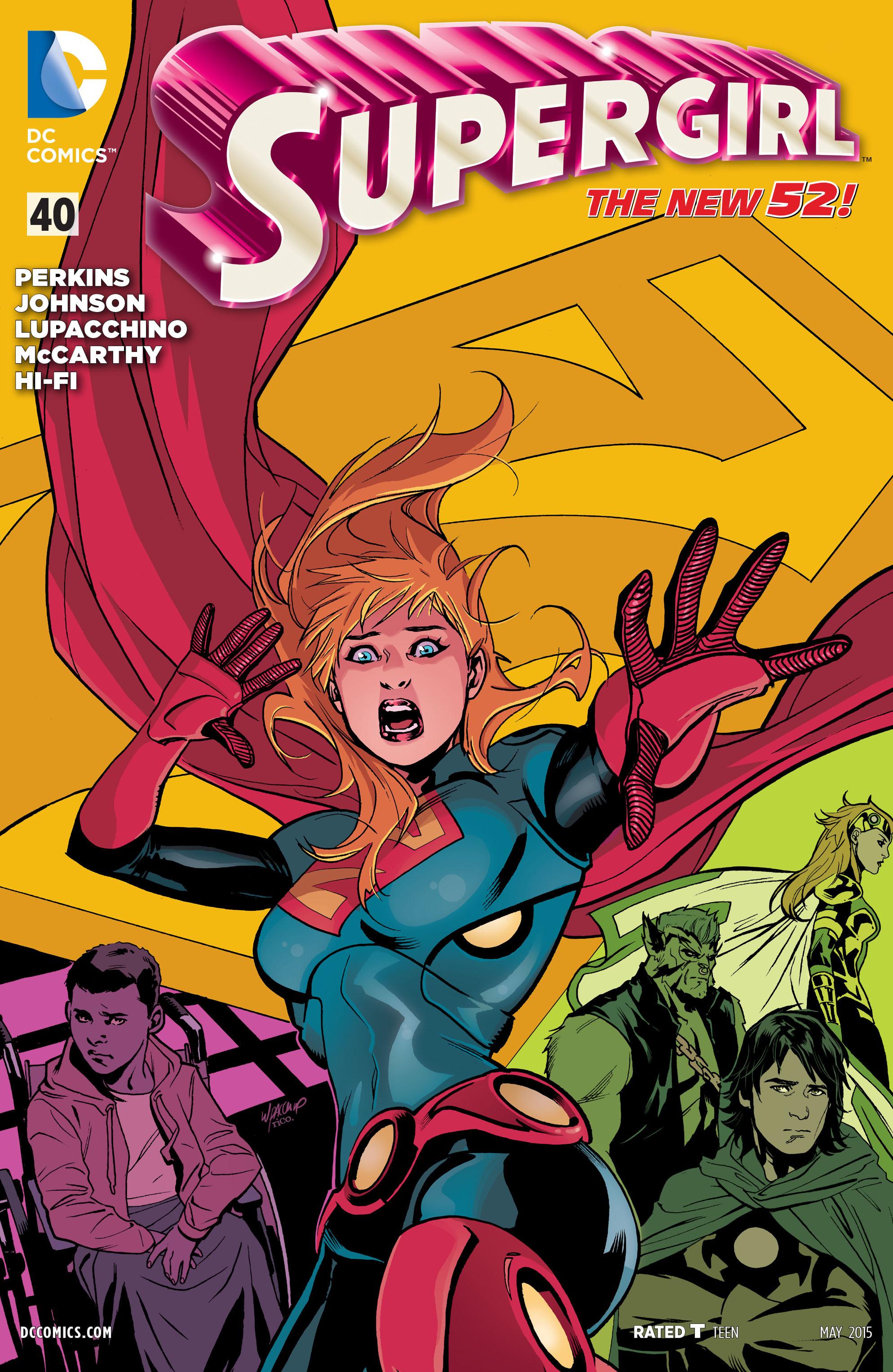 Supergirl (2011) Issue #40 #42 - English 1