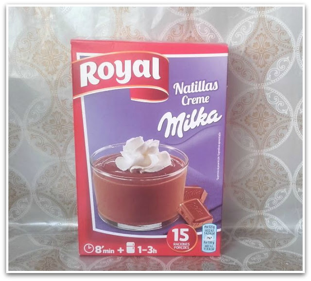 royal milka natillas
