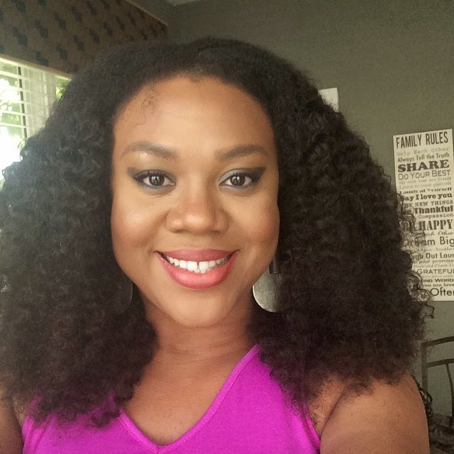Stella Damasus Ditches Her Massive Bohemian Curls For A Calmer Weave – Photos