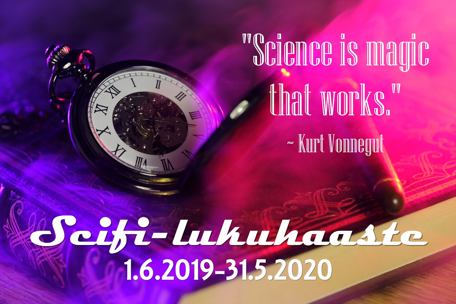 Scifi-lukuhaaste (1.6.2019 - 31.5.2020)