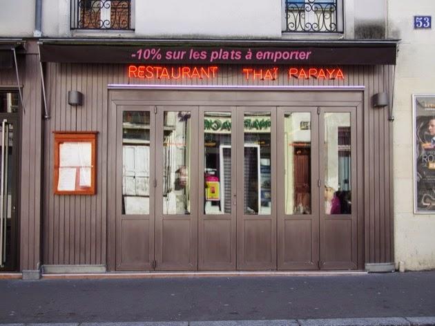 La butte aux cailles paris le restaurant tha papaya rue - Restaurant butte aux cailles ...