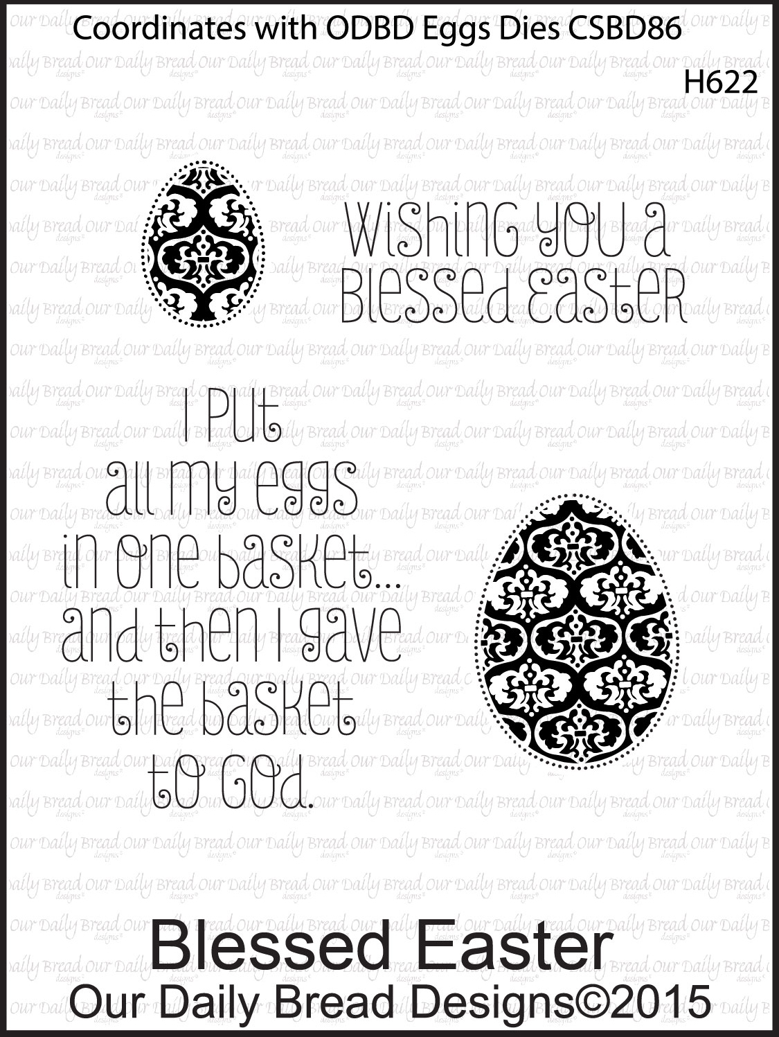 Stamps - Our Daily Bread Designs Blessed Easter