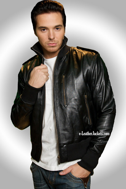 mens leather jacket colmar