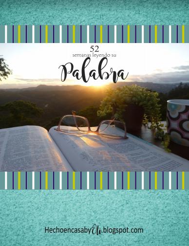 52 Semanas leyendo Su Palabra