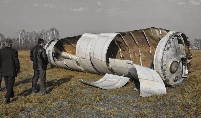 Якутия добилась изменения района падения обломков космических ракет