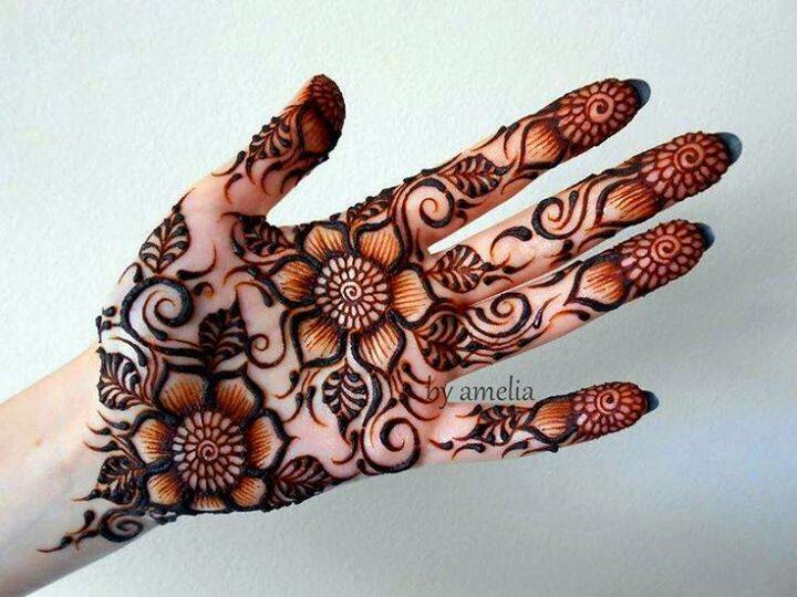 Mehndi Designs Latest New Style : Latest mehndi designs and pictures new