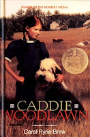 bookcover of CADDIE WOODLAWN  by Carol Ryrie Brin