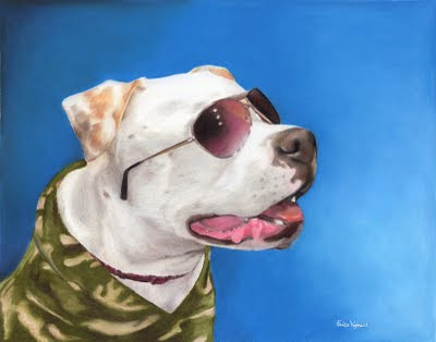 Dog Portrait Colored Pencil