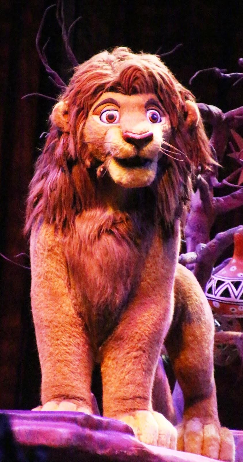 Imagen: Espectáculo del Rey León