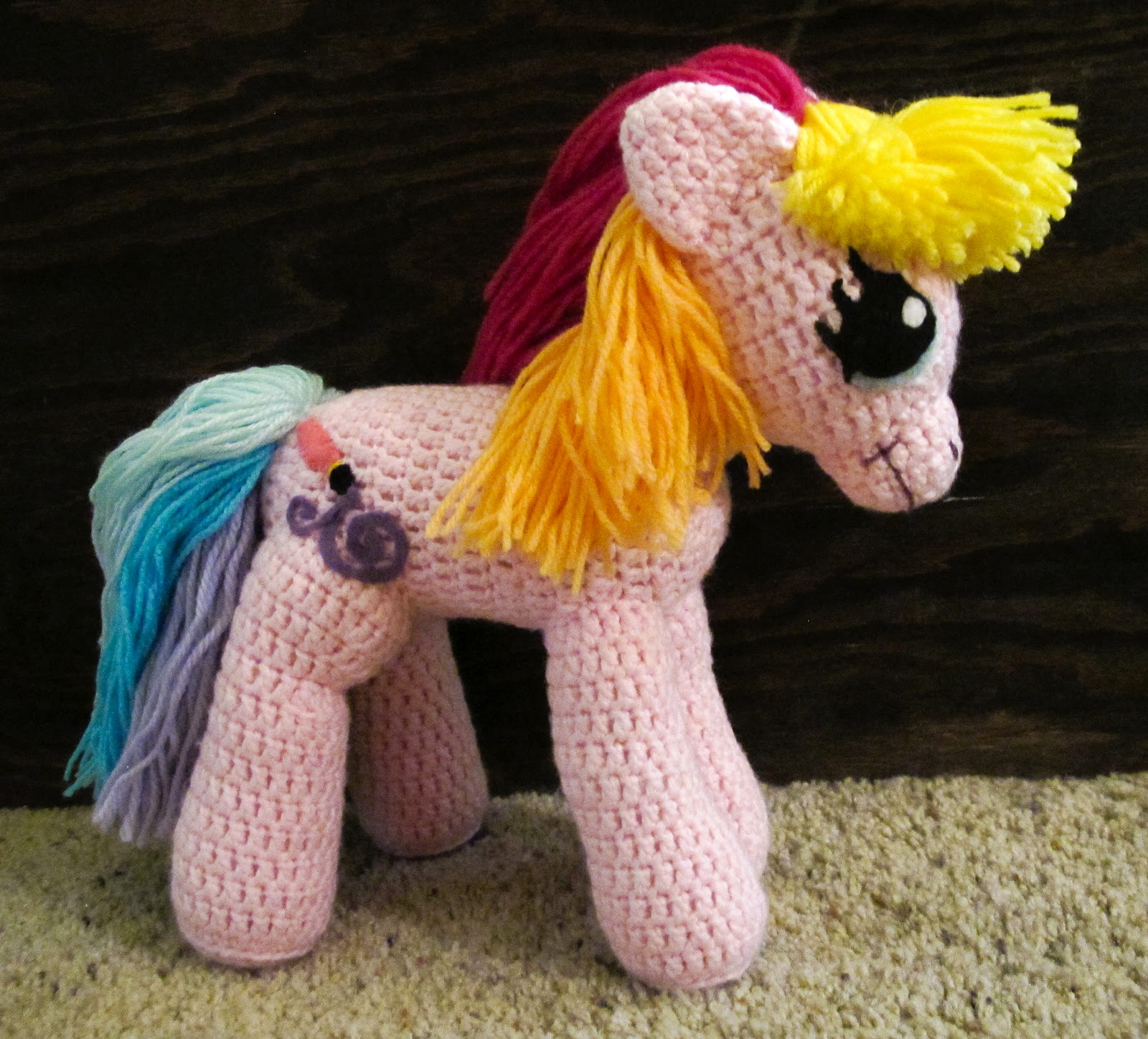 Amigurumi Pattern My Little Pony : The Serial Craftress: Toola Roola Amigurumi