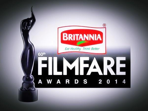 60th Britannia Filmfare Awards 2014 winners naminations