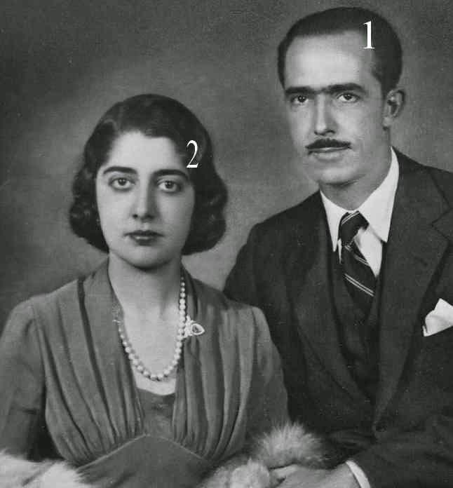 Prince et Princesse Louis de Bourbon-Parme