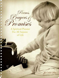 poems prayers and promises, church of Christ, church of Christ women authors, Cindy Colley, calendar, prayer books, planners, datebook