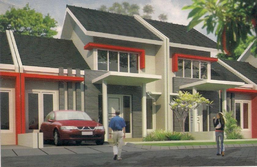 rumahku 1 contoh denah rumah minimalis type 45 105