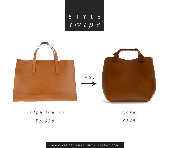 leather tote bag get the look for less