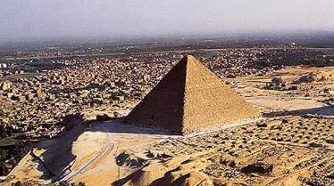 Another View of the Great Pyramid just outside Greater Cairo