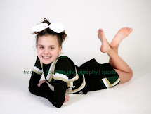 Middle School Cheerleaders Individual Portraits