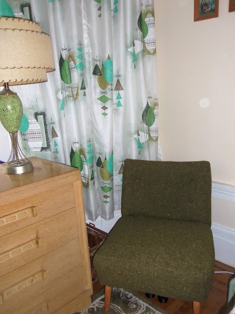 1960s, vintage, chairs, mid century, green, atomic, 1950s