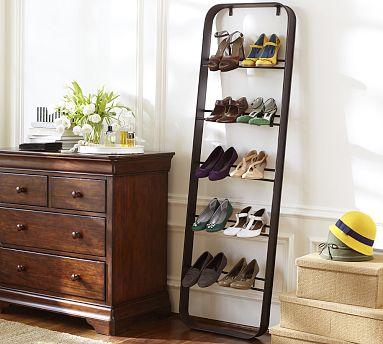 Twc escaleras multiusos for Guarda zapatos en madera