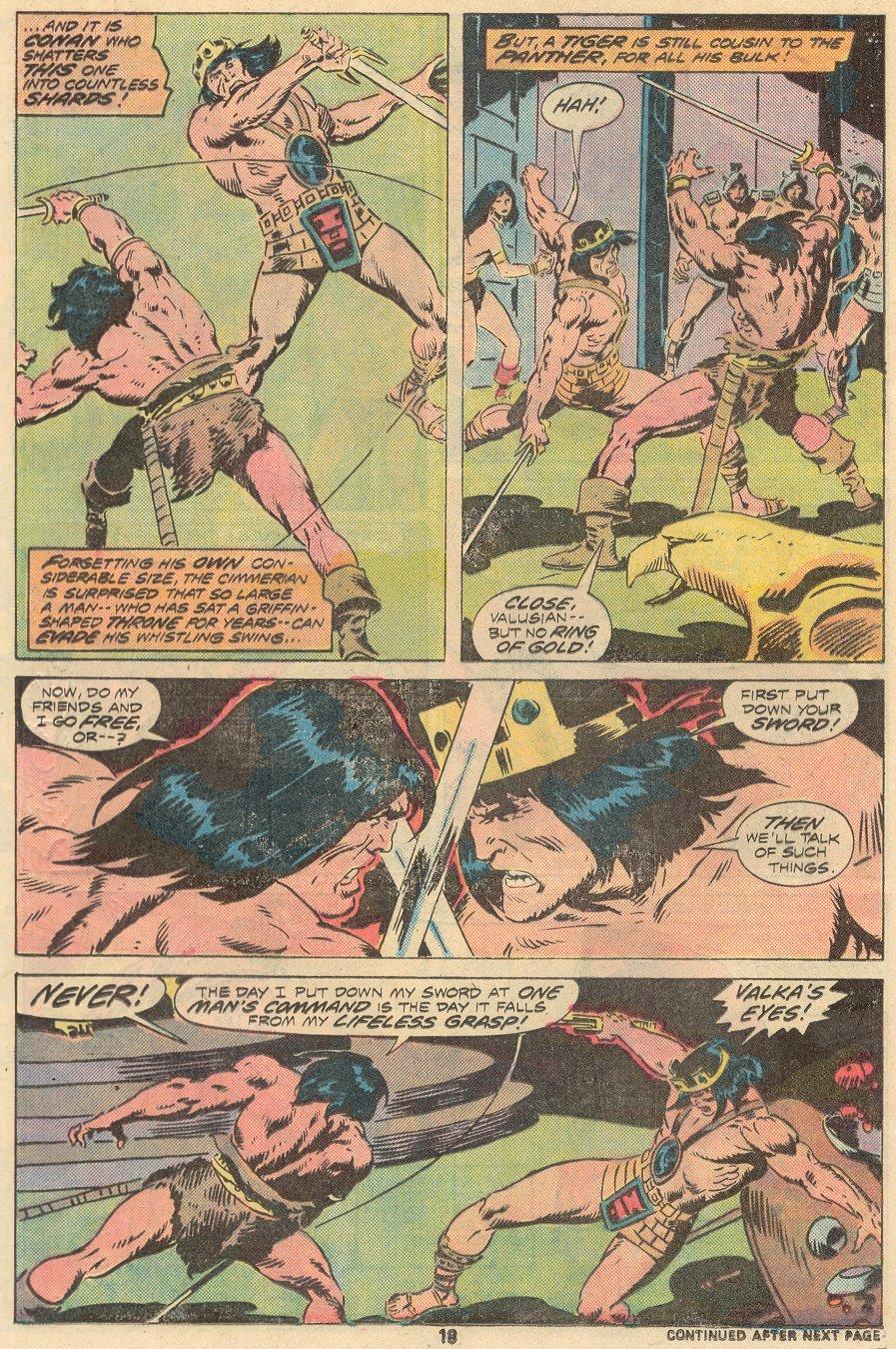 Conan the Barbarian (1970) Issue #68 #80 - English 13