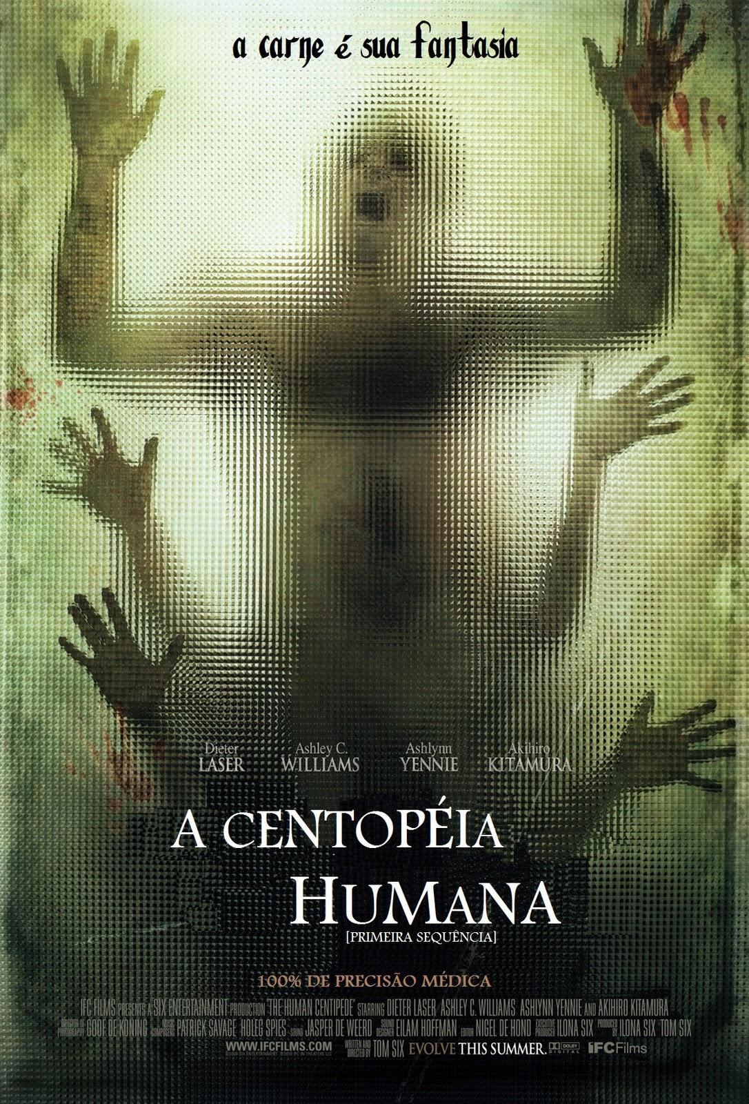 Filme A Centopéia Humana   Legendado