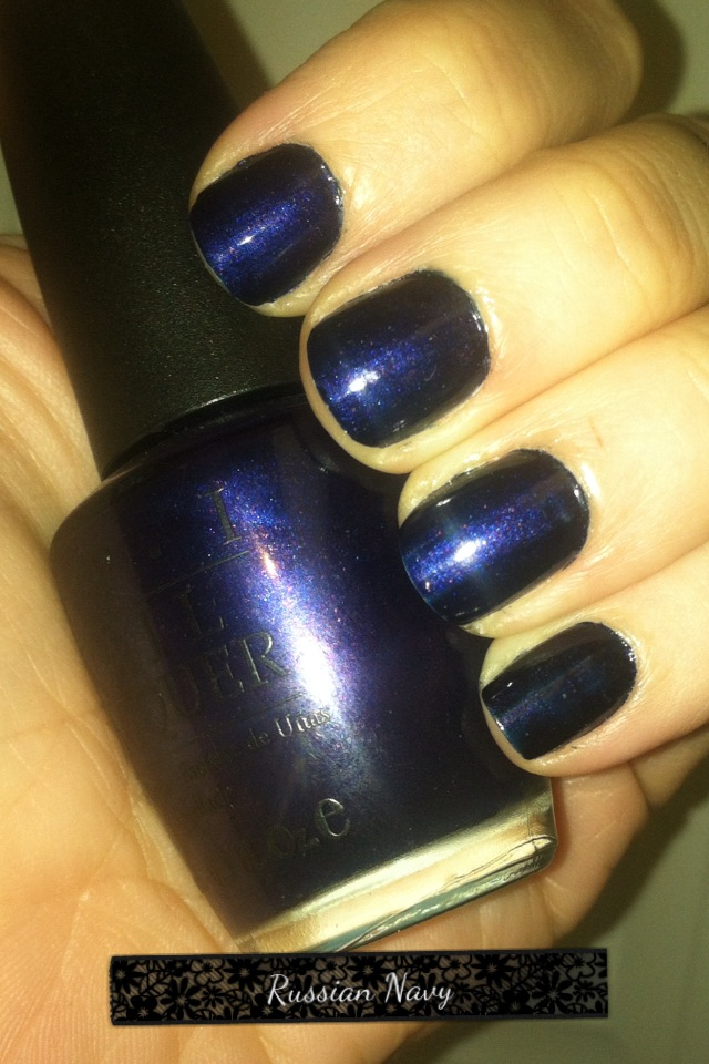 52 Shades of Nail Polish: A Mani for Every Monday of the Year: OPI ...