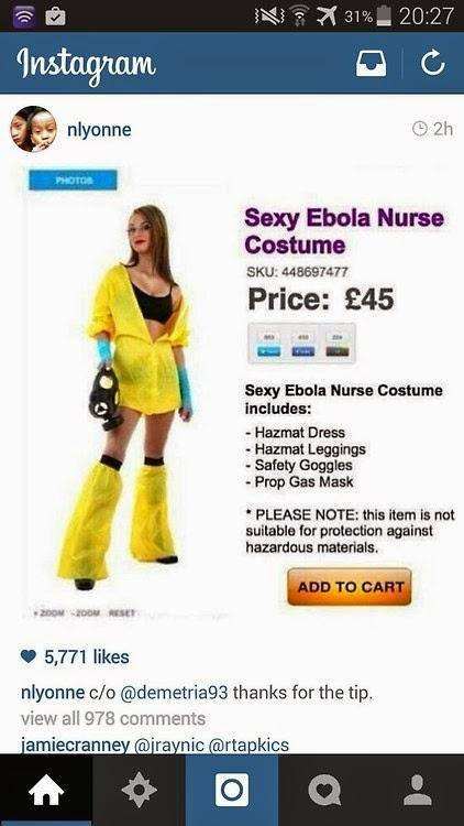 Sexy Ebola Nurse Costume