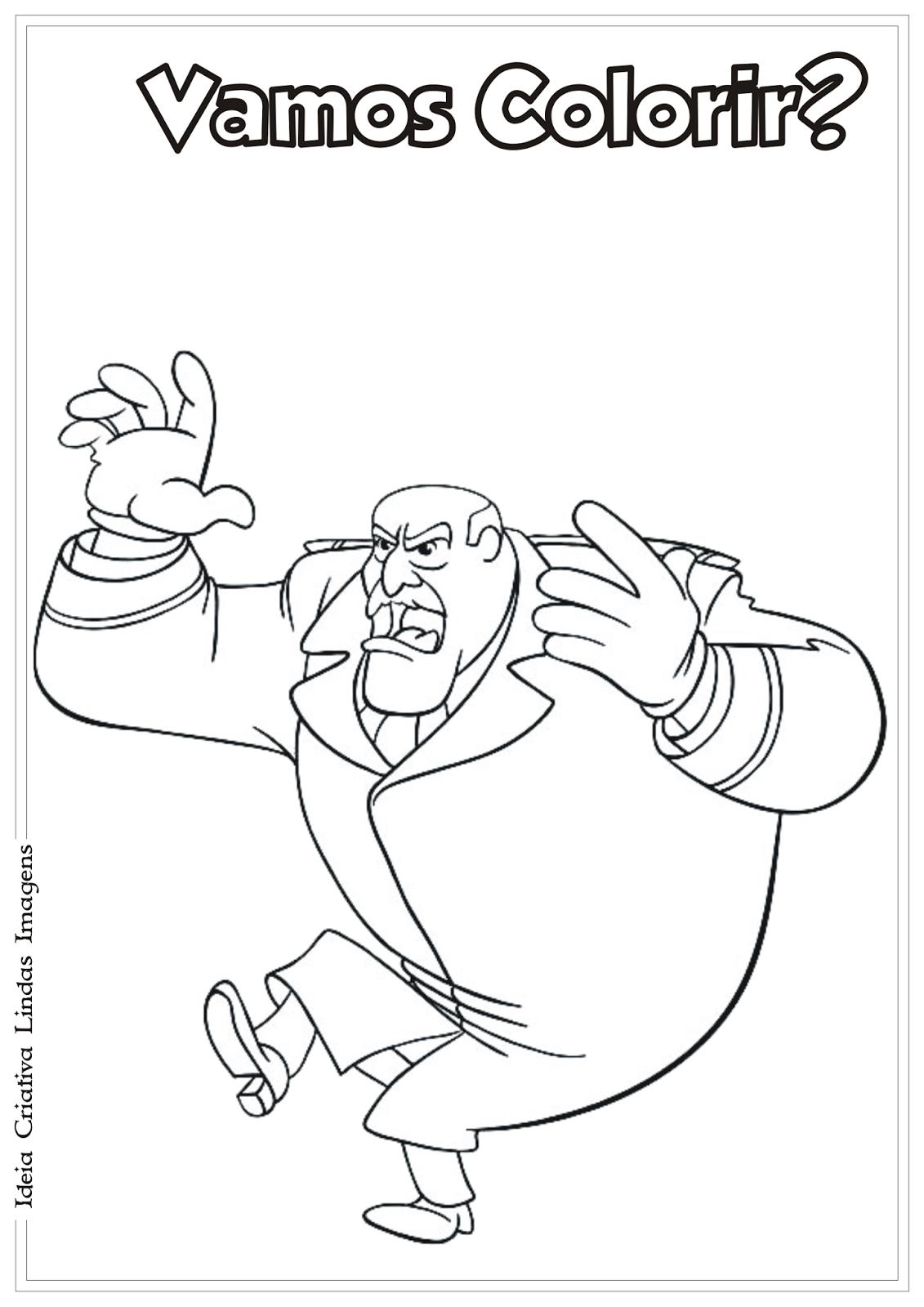 George, o curioso desenho para colorir