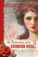 Book cover of The Seduction of the Crimson Rose by Lauren Willig