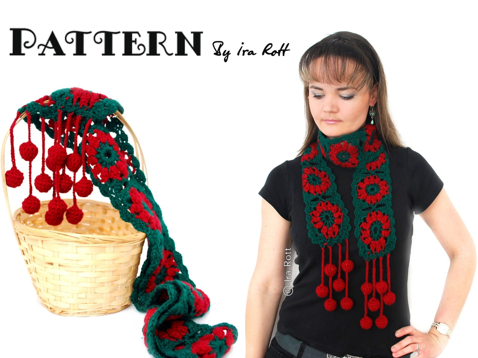 Fashion Crochet Design By Ira Rott: Jingle Bells Christmas Festive ...
