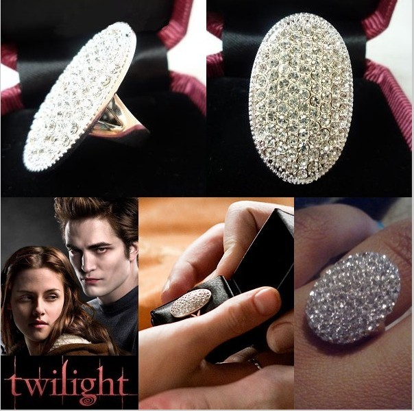 "Hot Twilight Bella""s Engagement Ring Wedding Ring Birthday Gift Size 8"