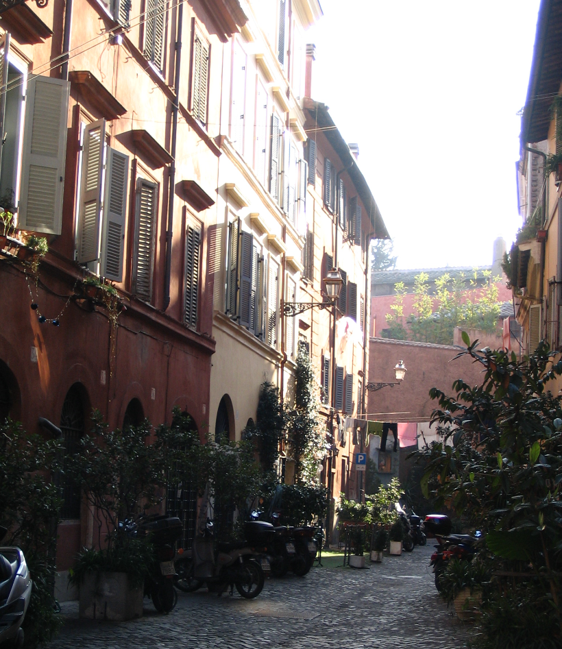 A land in Trastevere