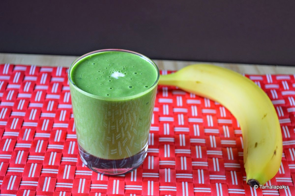 Banana-Spinach Smoothie