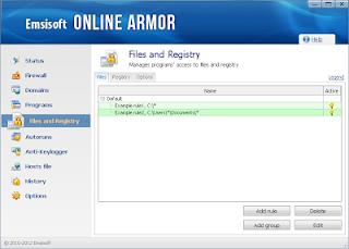 برنامج emsisoft online armor 6 لحماية جهازك