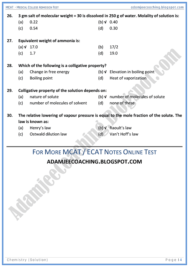 mcat-chemistry-solution-mcqs-for-medical-entry-test